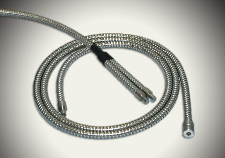 FTI glass and plastic flexible light pipes