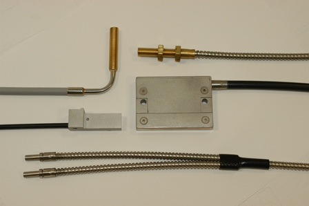 glass and plastic photoelectric light guides for aftermarket service or OEM